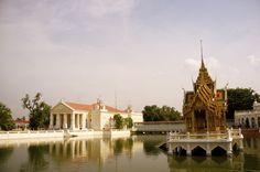 Ba Pang In Palace, Bangkok Bangkok Thailand, Narnia, Palace, Mansions, House Styles, Travel, Mansion Houses, Villas, Fancy Houses