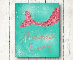 Hey, I found this really awesome Etsy listing at https://www.etsy.com/listing/233899555/mermaid-printable-turquoise-and-coral