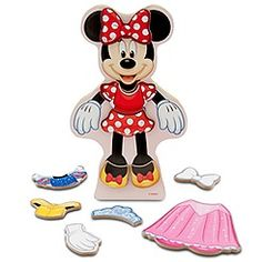 Magnetic Minnie Mouse toy
