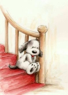 This is literally Isabel till mike gets home. - This is literally Isabel till mike gets home… Dog's 🐶 - Fuchs Illustration, Cute Illustration, Cute Animal Drawings, Cute Drawings, Cute Images, Cute Pictures, Illustration Mignonne, Art Mignon, Tatty Teddy