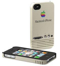 Retro Macintosh iPhone Case by Schreer Delights