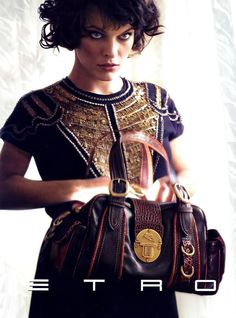 Etro Ad - Milla Jovovich Photo (236760) - Fanpop