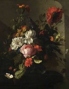 The Athenaeum - Vase of Flowers (Elias van den Broeck - )