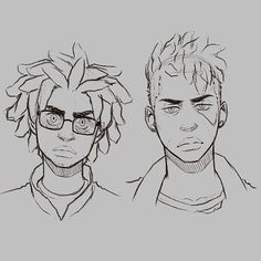 character design in 2019 guy drawing, character art, hair sketch. Character Design Cartoon, Character Design References, Character Drawing, Character Concept, Concept Art, Pelo Anime, Black Anime Characters, Hair Sketch, Guy Drawing