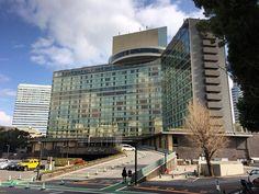 人間の証明で有名なストローハットのホテルニューオータニに行って来たカーテンウォールがリニューアルされているためか古さは感じさせない#hotel #newotani  #kioicho #tokyo