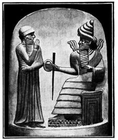King Hammurabi of Babylonia was an important Babylonian king known for his early law code, the Code of Hammurabi.