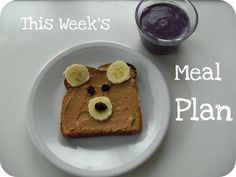 meal plans and cute food ideas for kids.