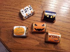 """Mummify"" Your Candy Bars with hAppy Wrappers"