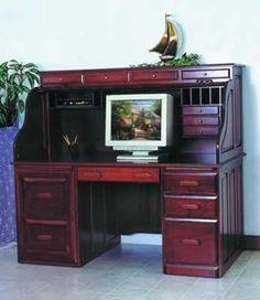 Deluxe rolltop desk