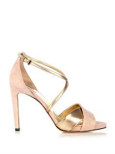 Max Mara Maratea peep-toe sandals