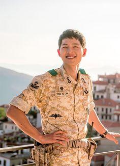 Song Joong Ki - Descendants of the Sun bts