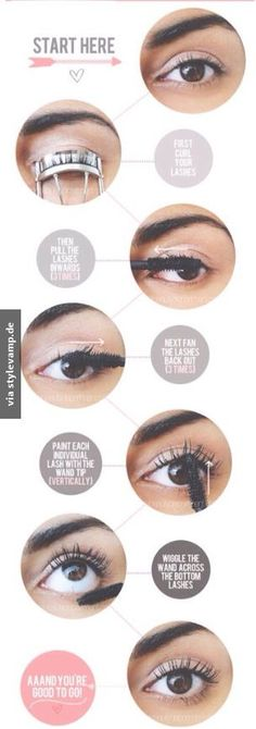 How to use your mascara