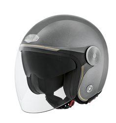 NAU Urban Style N650 CHEYENNE Grey/Gold Helmet <3 Made in Portugal