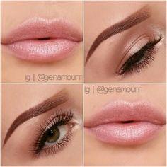 Soft, romantic makeup