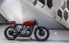 Racing Rose - Bad Winners CB550 Cafe Racer ~ Return of the Cafe Racers