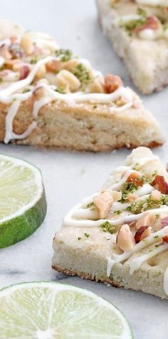 Cooking on the Front Burner: Lime Shortbread Cookies
