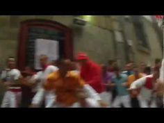 Encierro 9 de julio en primera persona -San Fermín & Burn-