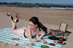 Natalia Oreiro.  Las Oreiro campaign.