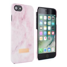 88d50893ff98 Ted Baker CLEMENT Soft-Feel Shell for iPhone 8   7- Rose Quartz