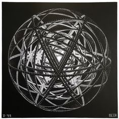 A particularly awesome MC Escher drawing that resembles a Dyson Sphere (but it isn't) / Sacred Geometry Mc Escher, Escher Kunst, Escher Art, Escher Prints, Diego Rivera, Dutch Artists, Arts Ed, Art Graphique, Wood Engraving