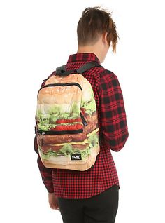 Eastpak Burger Print Authentic Backpack | cool stuff that i like ...