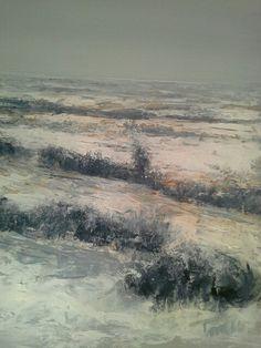 Distese d'inverno  50x70 cm Luigi Torre