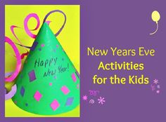 News Year Eve Activities for Kids from Creative Connections for Kids