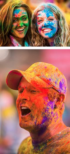 Festival of Colours 2012 by Thomas Hawk.