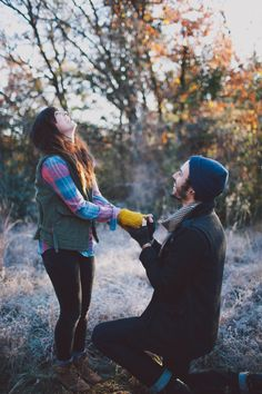 this surprise engagement photoshoot posted on this blog is literally the cutest thing I've ever seen