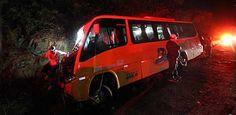 Acidente com micro-ônibus de torcedores da Fórmula Truck deixa um ferido na BR-232 Colisão ocorreu no km 68, por volta das 20h Um homem ficou ferido em um acidente com um microônibus que trazia 22 torcedores da Fórmula Truck de Caruaru para o Recife, ontem, por volta das 20h, no quilômetro 68 da BR-232. O veícul Publicado em 19/05/2013, às 22h03 (Leia [+] clicando na imagem)