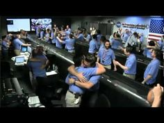 My new favorite video. NASA control room during touchdown of Curiosity on Mars. Go to 2:30 for the fun part.