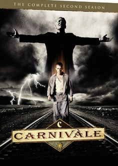 Carnivale. A short lived US tv series (HBO) about the epic fight between good and evil. Set in Great depression 1934, a young fugitive Ben Hawkins finds refuge within a travelling carnival, discoveres his healing powers and must fight evil personified in a preacher.  Big mistake HBO to cancel this one.  Lets shake some dust.