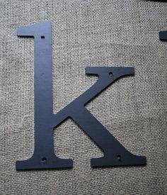Metal Letter k