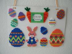 Easter ornaments perler beads by Noé D.- Perler®   Gallery
