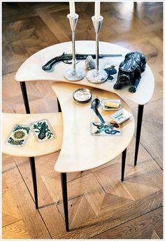 Coffee table accessories #decor