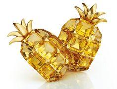 """Paire de clips """"Ananas"""" citrines, par Suzanne Belperron"""