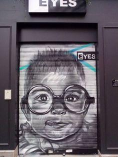 Tore Spraycan, Rue Lecourbe, Paris 15