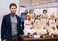 Un artiste crée des poupées russes hyper réalistes, vous n'en croirez pas vos yeux