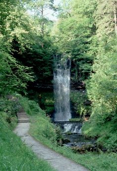 Glencar Waterfall, County Sligo, Ireland
