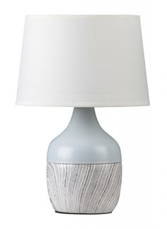 YVETTE Rabalux - lampa stolná - 290mm - svetlomodro-biela