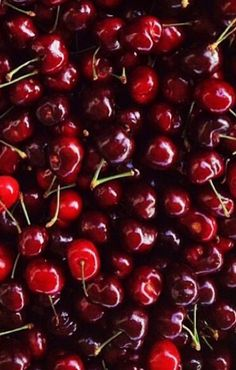 Cherries and more cherries!