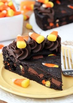 Candy Corn Chocolate Chip Cookie Cake | Cook
