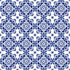 Azulejo by Nicola Collins | Patternmash Floral Tie, Pattern Design, Journal, Blue, Art, Tiles, Art Background, Kunst, Performing Arts