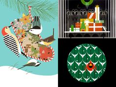 Charley Harper Prints | The Fox Is Black