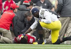 Sometimes there are moments in sports that transcend rivalries or competition. University of Michigan quarterback Devin Gardner showed us what that's all about when his Wolverines took on Ohio State University in The Game...