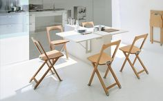 Tavolo Pieghevole Allungabile Eleven Calligaris.19 Best Space Savers Images In 2016 Table Chairs Dining Tables
