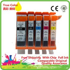 5x Compatible ink cartridge For Canon Pixma iP7250 Colour Inkjet Wireless Photo Printer #Affiliate
