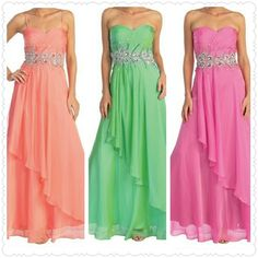 Chiffon Long Dress from The BEST OF BOTH WORLDS BOUTIQUE MONOGRAM AND GIFTS for $140.00