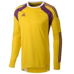 adidas Youth Onore Soccer Goalkeeper Jersey - Yellow
