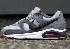 Nike Air Max Command - Wolf Grey, Black, and Classic Grey
